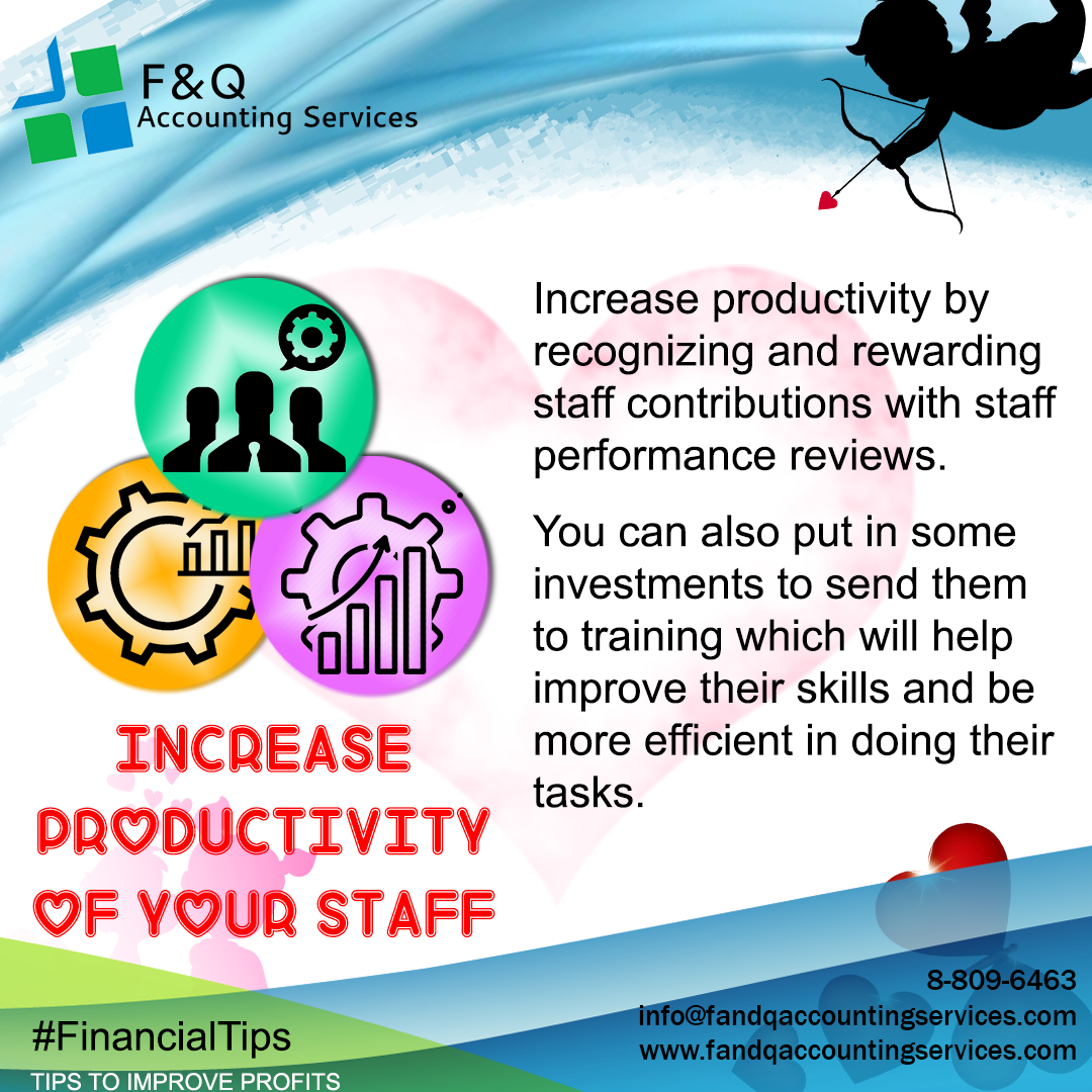Increase Productivity of your Staff