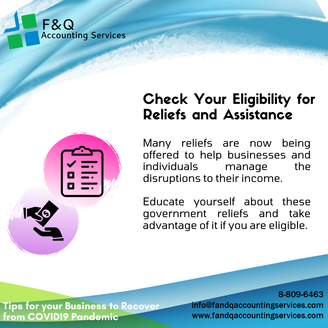 Check Your Eligibility for Relied and Assistance - Tips For Business To Recover