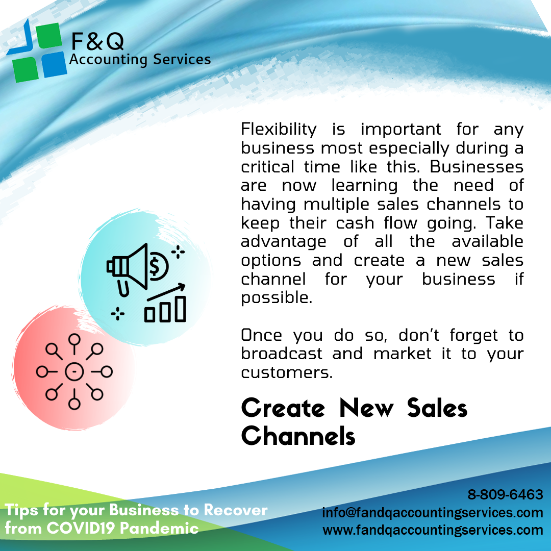 Create New Sales Channels - Tips For Business To Recover
