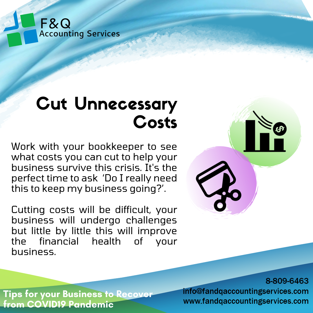 Cut Unnecessary Costs - Tips For Business To Recover