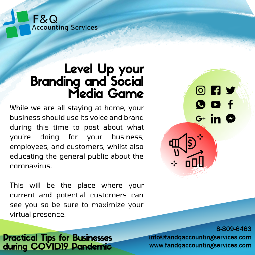 Level Up Your Branding and Social Media Game - Practical Tips for Businesses