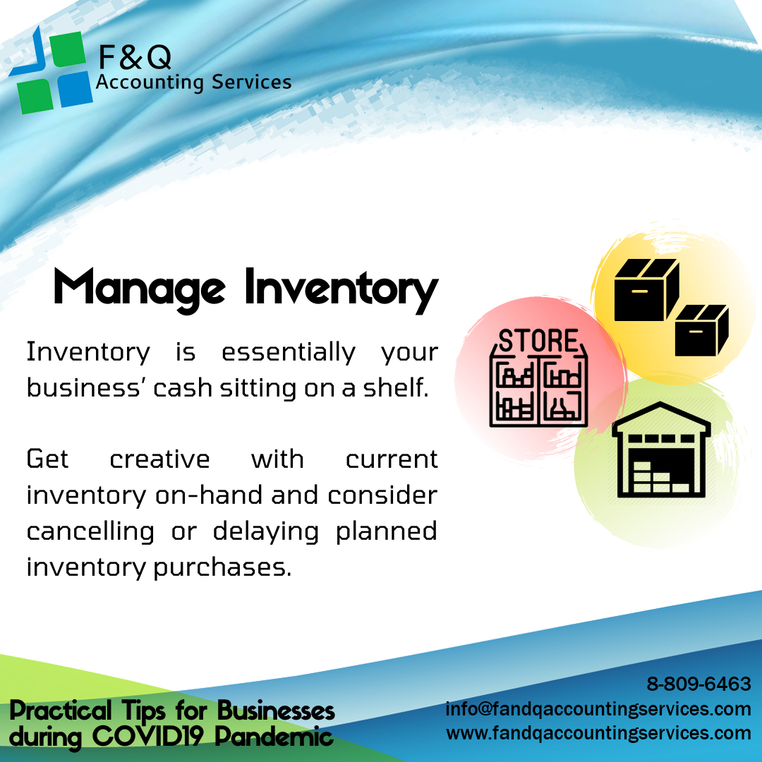 Manage Inventory - Practical Tips for Businesses