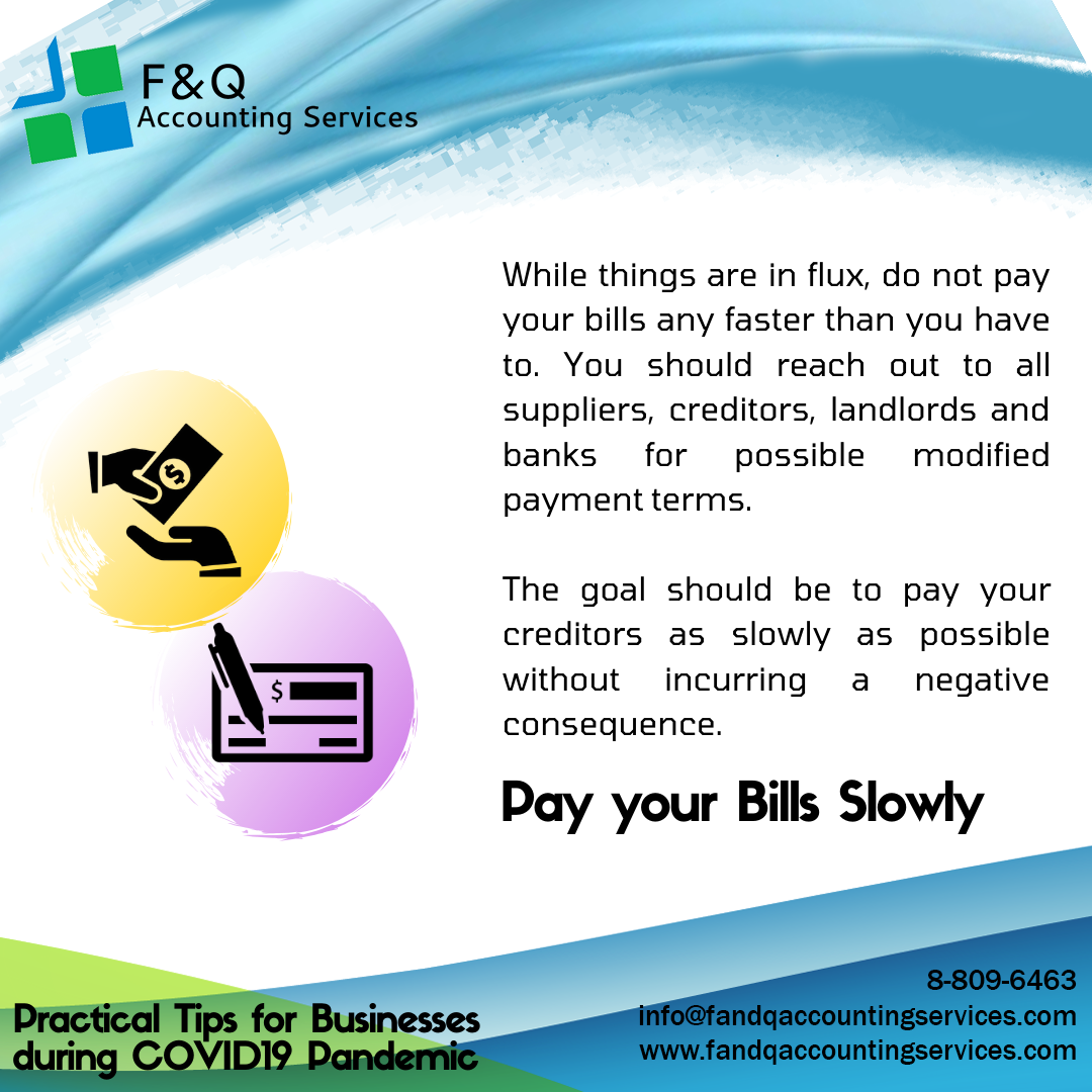 Pay Your Bills Slowly - Practical Tips for Businesses