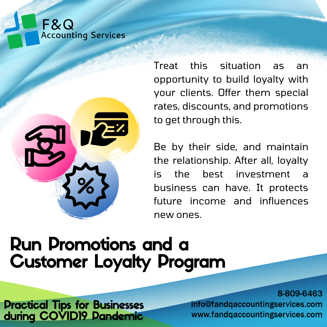 Run Promotions and a Customer Loyalty Program - Practical Tips for Businesses