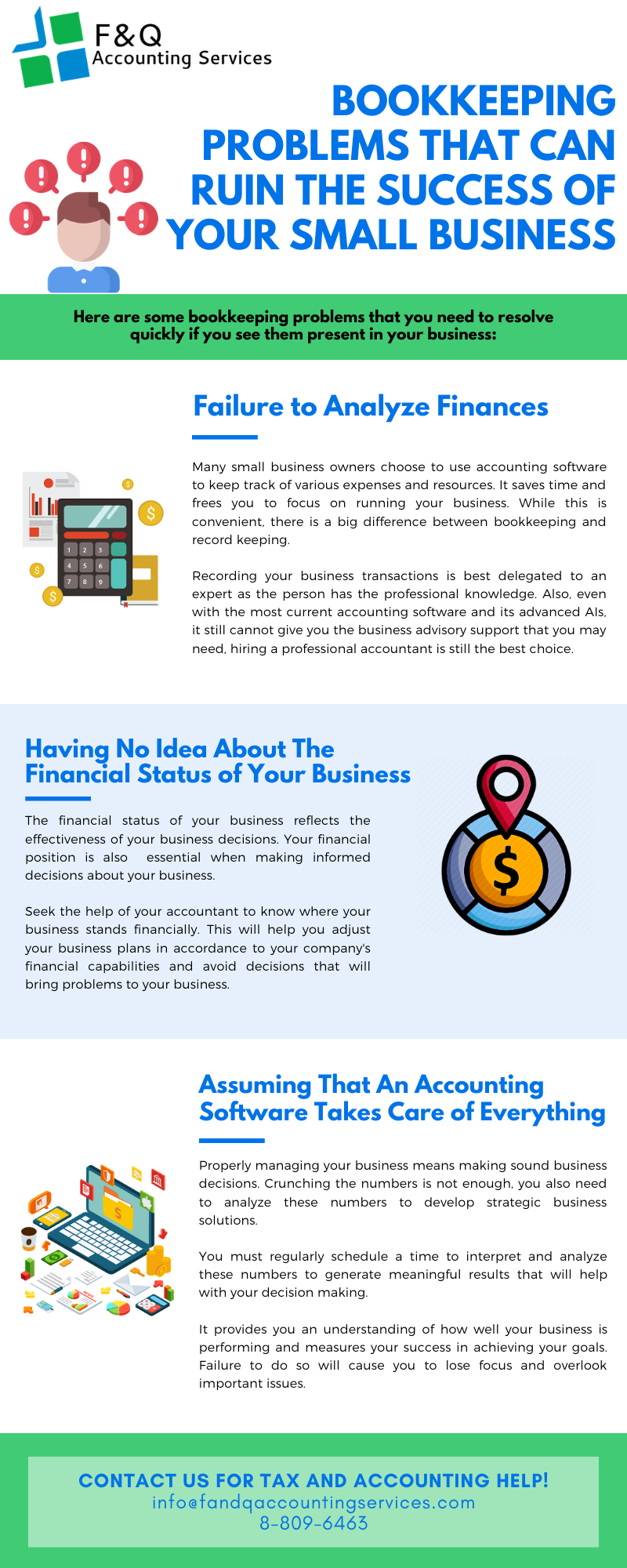 Bookkeeping Problems That Can Ruin A Business' Success